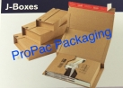 J Boxes Corrugated Mailing