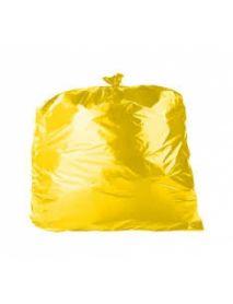 """39"""" Yellow Coloured Bin Bags"""
