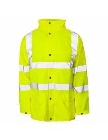 HV Yellow Storm-Flex PU Jacket