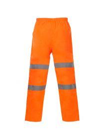 High Vis Orange Breathable Trousers