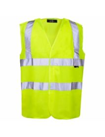 High Vis Yellow Pull Apart Vest