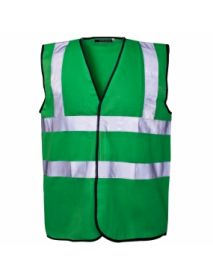 High Vis Coloured Vest - Green