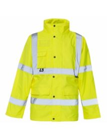 High Vis Yellow Breathable Jacket