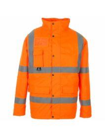 High Vis Orange Breathable Jacket