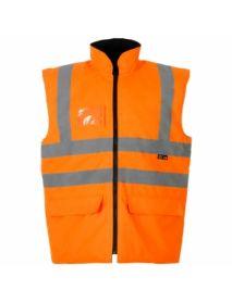 High Vis Orange Interactive Bodywarmer