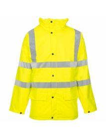 High Vis Yellow Storm-Flex Parka Jacket