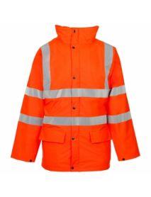 High Vis Orange Storm-Flex Parka Jacket