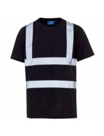 High Vis Black T-Shirt