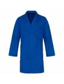 Polycotton Lab Coat - Royal Blue