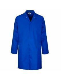 Polycotton Food Coat Inner Pocket - Royal Blue