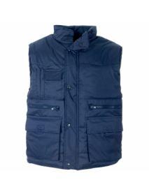 Multi- Pocket Bodywarmer - Blue