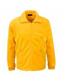 Basic Fleece Jacket - Yellow