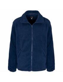 Basic Fleece Jacket - Navy
