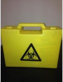 Body Fluid Disposal Kit 5 Application