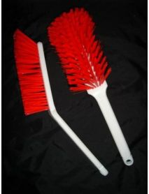 Bench Brush Medium (Red)