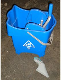 RH Pro Mop Bucket Blue +Gear Press Ringer