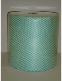 All Purpose Cloth - Green - On a Roll  ( 25cm x 25cm) ( 500)