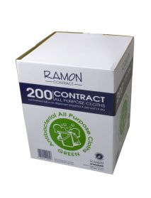 Green  Boxed Roll All Purpose Cloth (200)