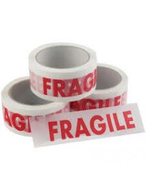 FRAGILE printed acrylic tape 48mm x 66m