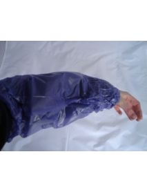 PVC Oversleeve (Blue) (44 X 22CM) (20 X 20)