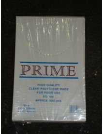 8 x 12 Clear Poly Bag ( 100g )