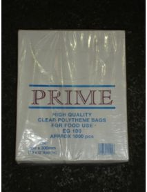 10 x 12 Clear Poly Bag ( 100g)