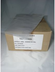 Vacuum Pouches   160 x 200 (70 Micron)