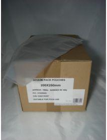 Vacuum Pouches   200 x 250 (70 Micron)