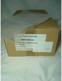Vacuum Pouches  300 x 360 (70 Micron)