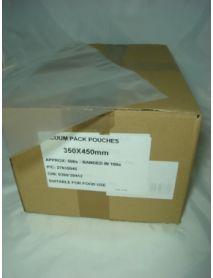 Vacuum Pouches   350 x 450 (70 Micron)