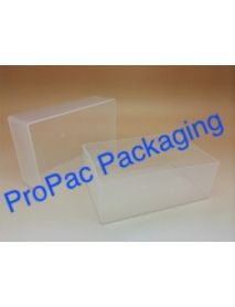 Large Plastic Business Card Box & Lid 95mm x 60mm x 70mm