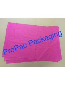 "Acid Free Coloured Tissue 18"" x 29"" (17 GSM) PINK (Soft Feel)"