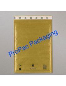 Mail Lite Postal Bag - Colour: GOLD Size:120mm x 210mm (B/00)