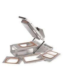 Lidding Machine Adjustable Temperature: Die Plate: Sealing Area 190 x 250mm