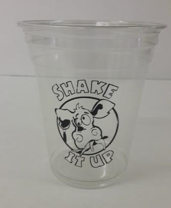 printed smoothie cups